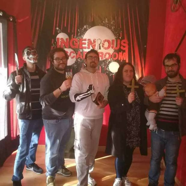 ingeniuos escaperoom gatomantes