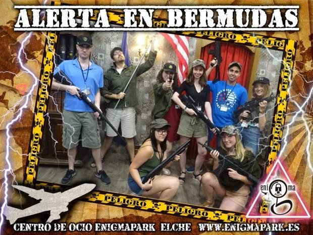 Alerta en Bermudas (Enigmapark)