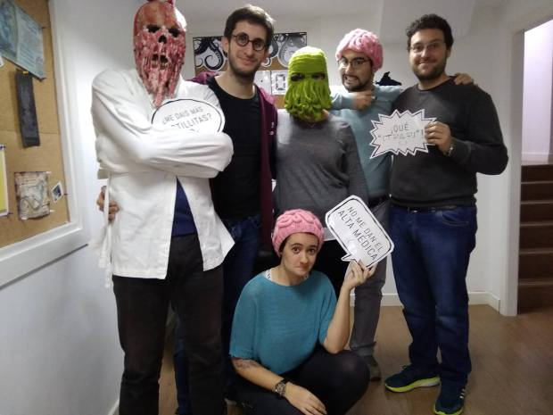 El despacho del director - Phobia Escape Room (Madrid)