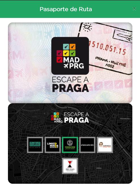 Pasaporte de Escape a Praga