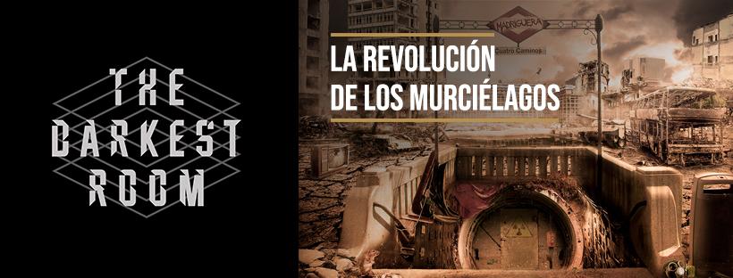 """La revolución de los murciélagos"""" / The Darkest Room (Madrid) – Gatomantes escapers"""