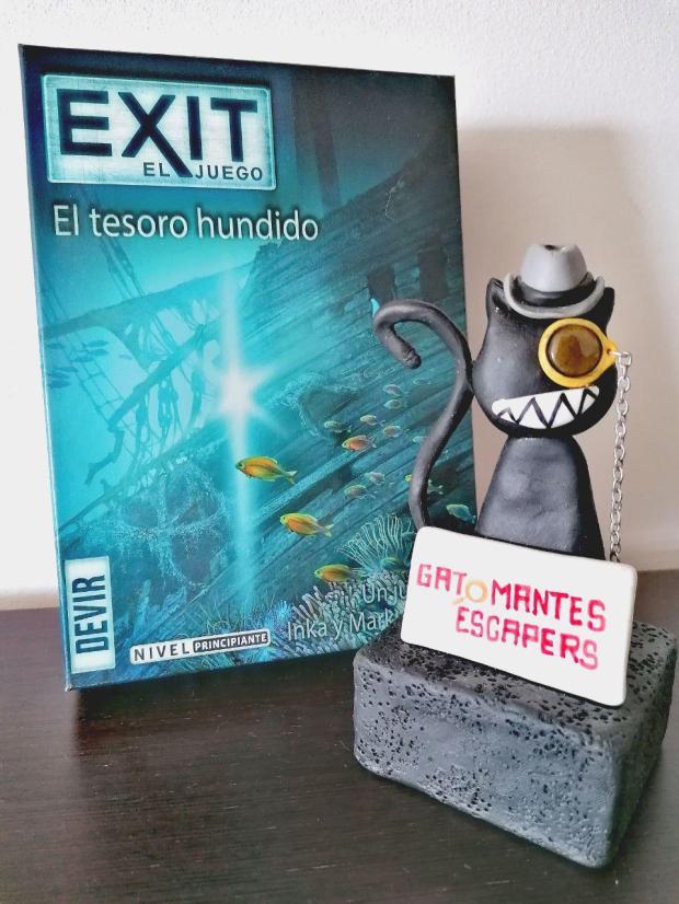 El tesoro hundido Exit