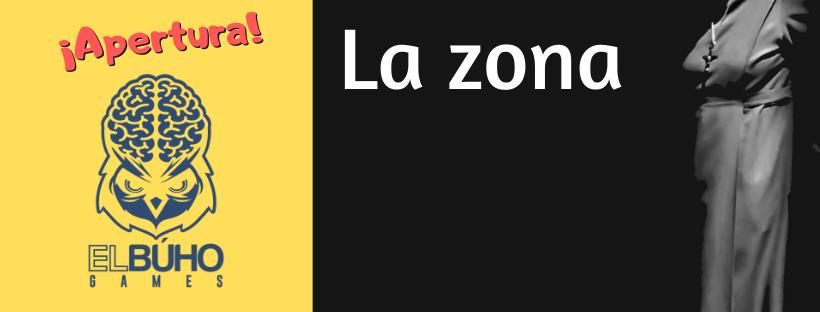 """Cabecera de la entrada de ¡Aperturas! de la escape room """"La zona"""", de El Búho Games, en Madrid"""