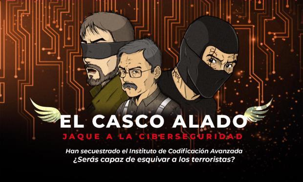"Imagen promocional de de ""El casco Alado"", de OnEscape en Ontiyent"