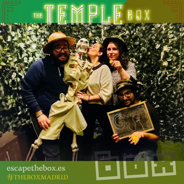 The Temple Box (con filtro) - The Box